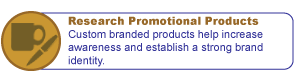 Research Promotional Products